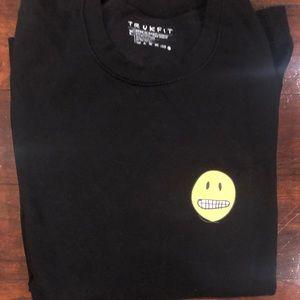 Men's crewneck truckfit sweatshirt/long sleeve